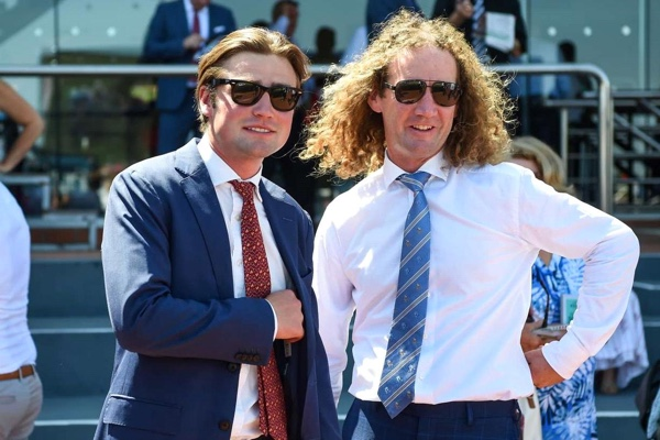 Dave Eustace and Ciaron Maher